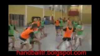 Handball training school Swedish