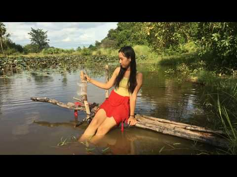 Thumbnail: Amazing Fishing Hooks-Beautiful Girl Use Fishing Hook Catch A Lot of Fish in The River
