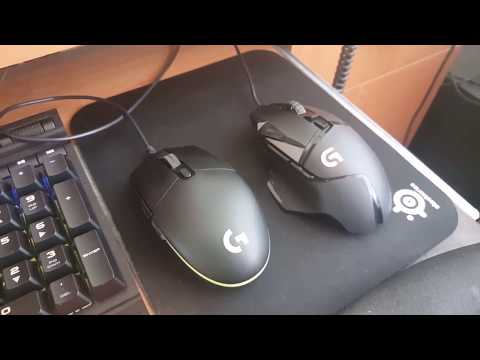 G502 weight reduction - YouTube