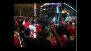 Malaysian Super League (Sarawak vs Lion XII FC) RED & BLACK Street Hooligans Ngap Sayot