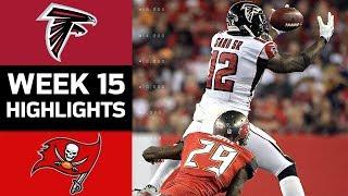 Falcons vs. Buccaneers | NFL Week 15 Game Highlights