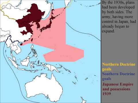 Japanese Expansion: North vs South