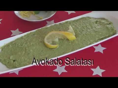 Avokado SaIatası(Avokado Ezmesi)