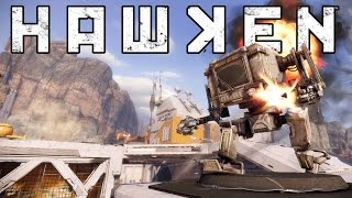 HAWKEN - Mechanized War Machine! - HAWKEN PS4 Gameplay - Sponsored