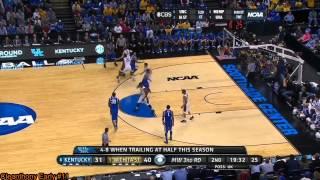 Cleanthony Early (Knicks SF/PF) vs Kentucky 2014