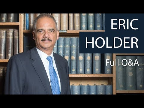 Eric Holder | Full Q&A at the Oxford Union