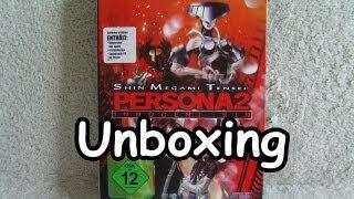 Shin Megami Tensei Persona 2 Innocent Sin Collectors Edition Unboxing (PSP) - Deutsch