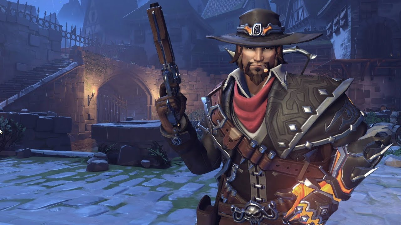 Overwatch Halloween 2020 Mcree McCree   Van Helsing   Overwatch 2017 Halloween Skin Spotlight