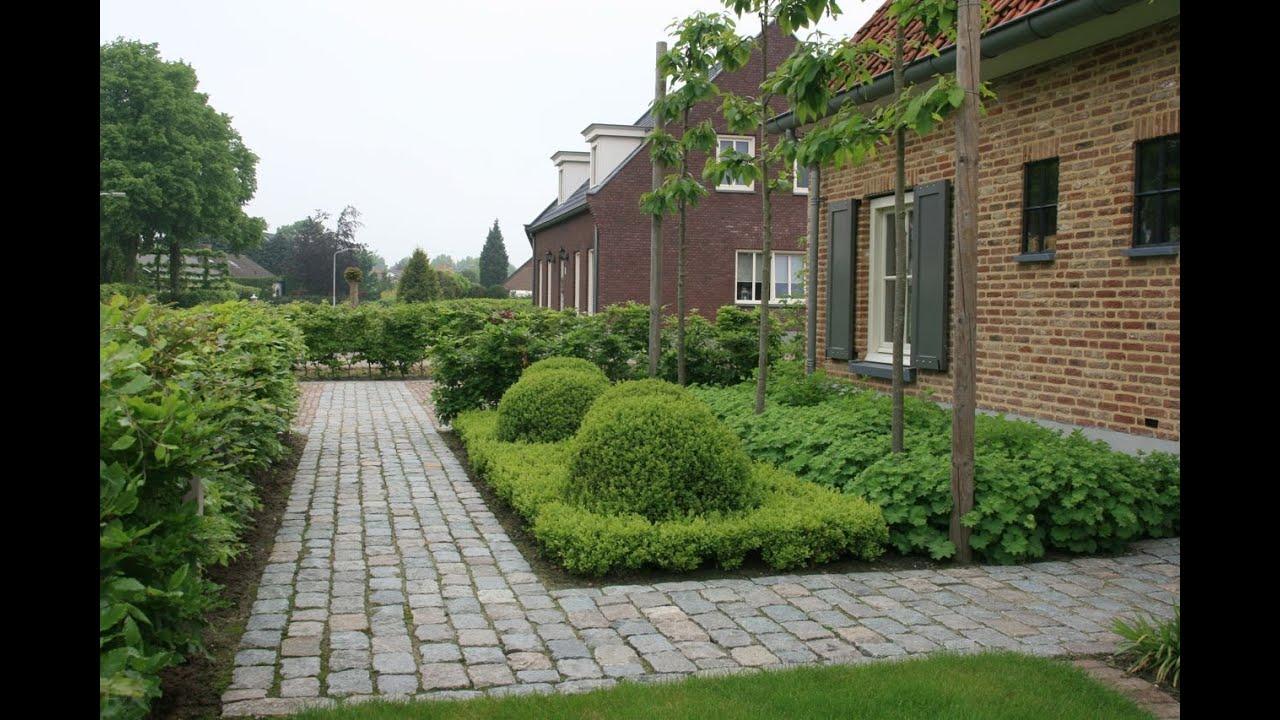 Landelijke tuin hoeven tuinmeesters youtube for Bestrating kleine tuin