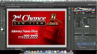 How to Create Quick Business Card in Adobe Photoshop CS6 - Photoshopdiamonds.com