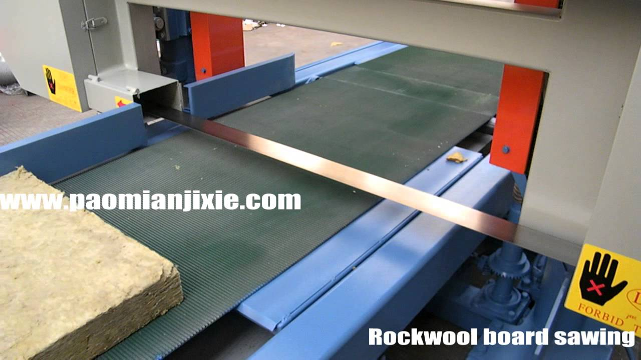 Rockwool Board Horizontal Sawing Machine The Cutting For