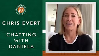 Chatting with Daniela: Chris Evert