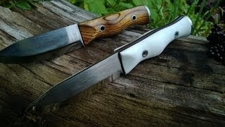 lumberjack knives in 12c27 steel