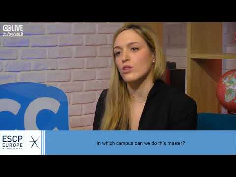 ESCP Europe Master In Management With Campus Channel
