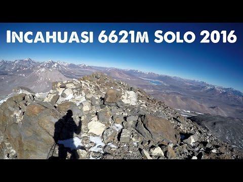 INCAHUASI (6621M) - SOLO CLIMB - BIKETOUR - ADVENTURE