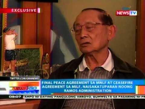 NTG: FVR, pabor sa nalagdaang Bangsamoro framework agreement