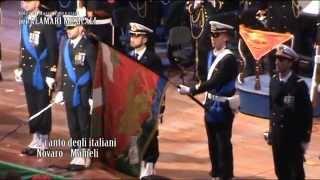 """Banda Musicale Marina Militare: Inno Nazionale """"Il canto degli Italiani"""""""