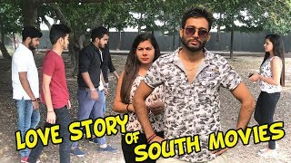 Love Story Of South Indian Movies |share this|