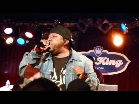 Phife Dawg - Electric Relaxation (1080p HD) - Live at BB King's in NYC 2/23/12