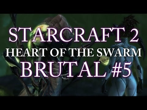 Heart of the Swarm on BRUTAL - Mission #5: Shoot the Messenger