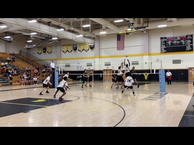 2019 NJ Boys Volleyball, NJSIAA Central Section Rd1, Game2