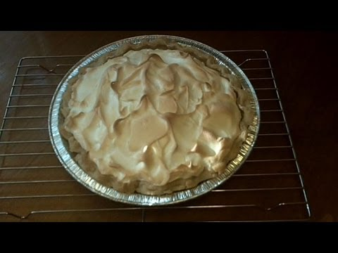 How To Make A Coconut Cream Pie With Meringue