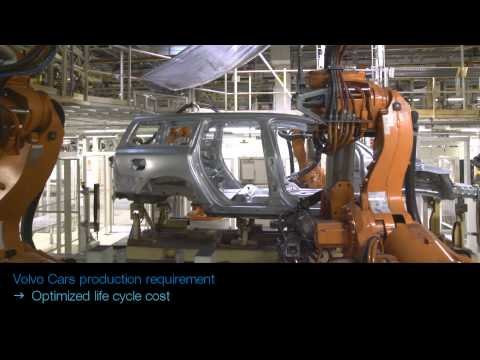 ABB Robotics - Spot Welding at Volvo (with Integrated Dress Packs)