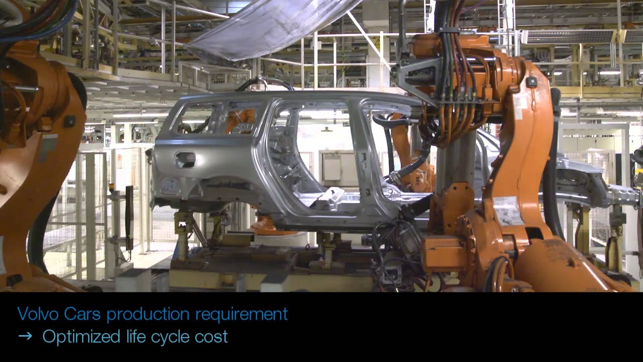 ABB Robotics - Spot Welding at Volvo (with Integrated Dress Packs)