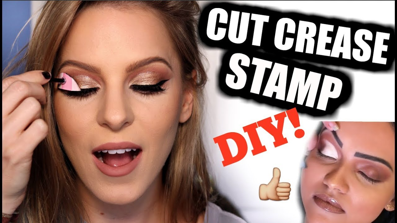 DIY Cut Crease Stamp Tool