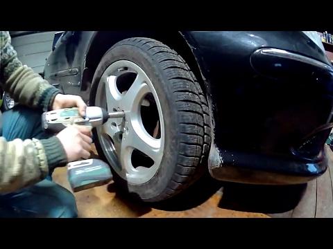 Замена нижнего рычага передней подвески | Mercedes S500 W220