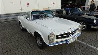 1968 Mercedes-Benz 280 SL - Exterior and Interior - Hamburg Motor Classics 2018