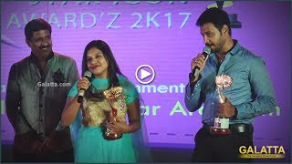 #Baahubali Dubbing Artists for Prabhas and Anushka Receive Studio One Star Icon Awardz '17