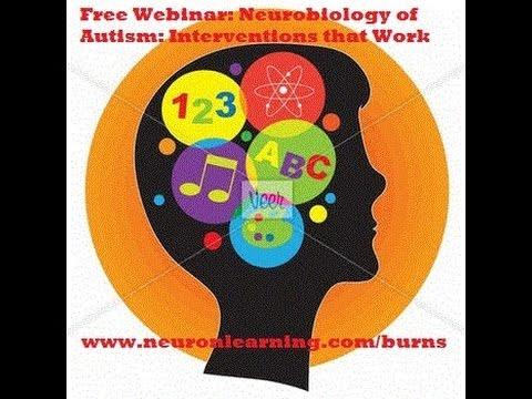 Neurobiology of Autism: Interventions that Work - webinar