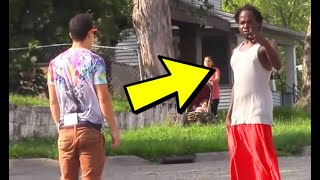 😈 Top 5 Pranks Gone Wrong In The HOOD! (FUNNY PRANKS 2019)