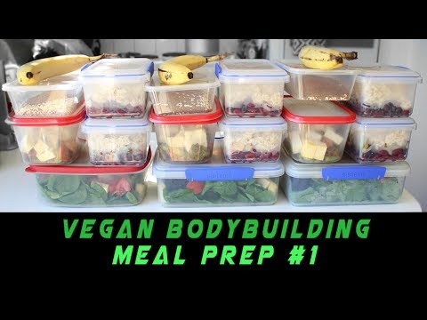 Vegan Bodybuilding Meal Prep | 170g Protein