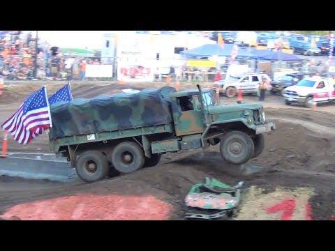 Tuff Truck-U.S. Army M813 5 ton@ Clark County Fair 2018