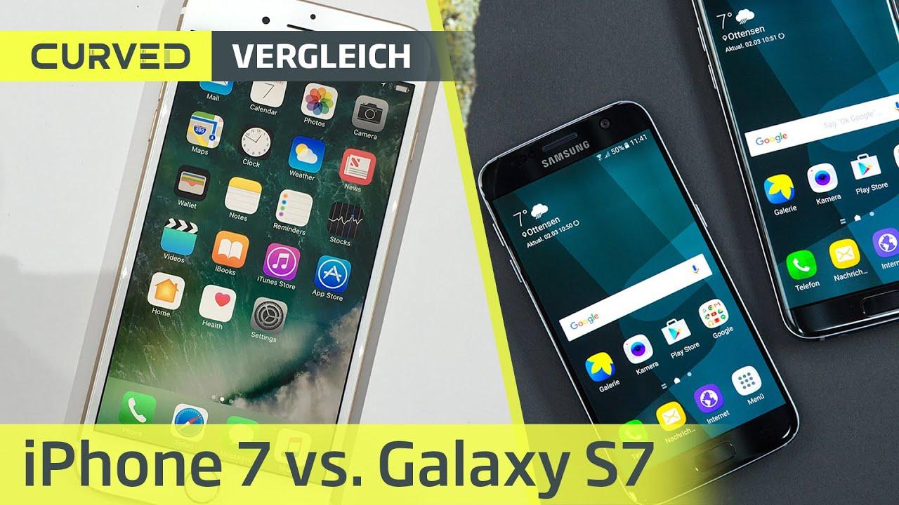 iphone 7 galaxy s7 vergleich