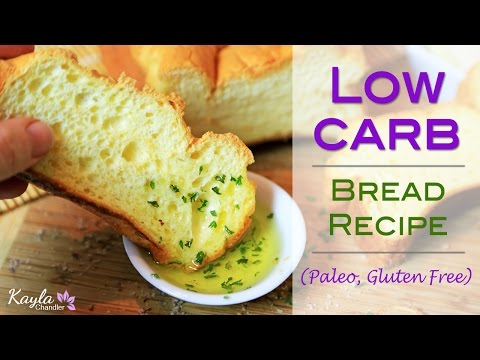 Low Carb Gluten Free Bread Recipe Only 4g of Carbs for Entire Loaf!