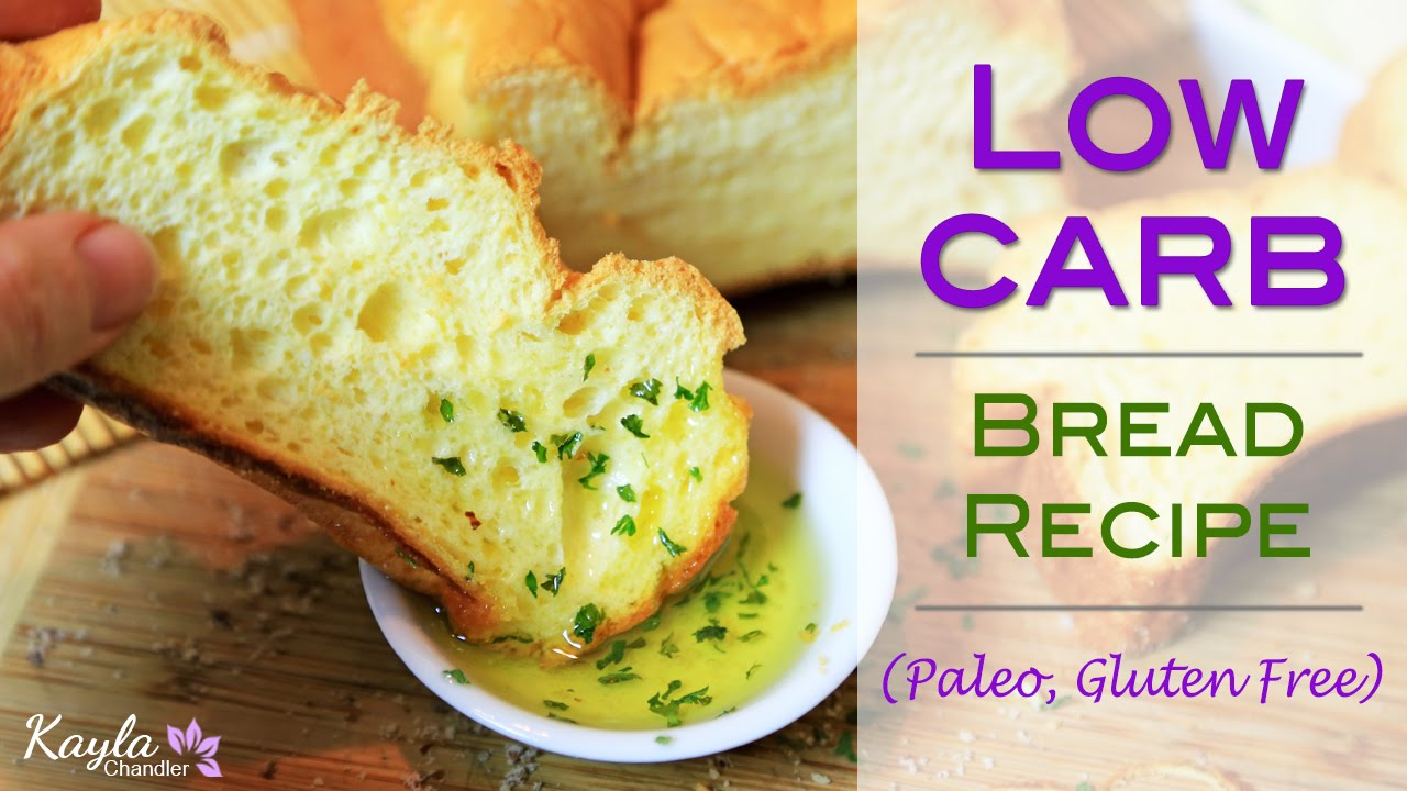 low carb gluten free bread recipe only 4g of carbs for entire loaf youtube. Black Bedroom Furniture Sets. Home Design Ideas