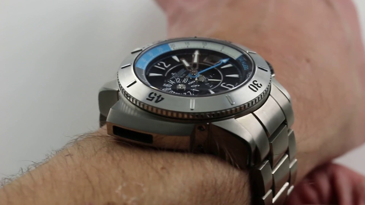 Jaeger-LeCoultre Master Compressor Diving Pro Geographic Ref  Q185T170  Watch Review