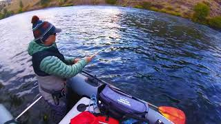 Dave Scadden's Detonator lo Pro X on Fall Steelhead
