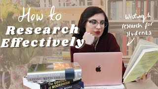 How to Research Any Topic | Essay & Writing Advice