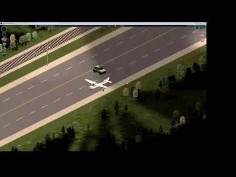 Driving Cars Mod - Air Plane - Project Zomboid