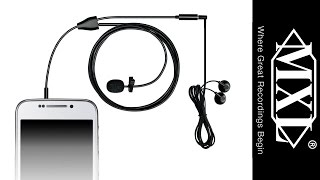MXL MM-160 Lavalier Microphone for Smartphones and Tablets - Review
