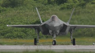 【7/11速報!!!】小牧ステルス戦闘機F-35A、4回目の試験飛行実施!!【AX-5】
