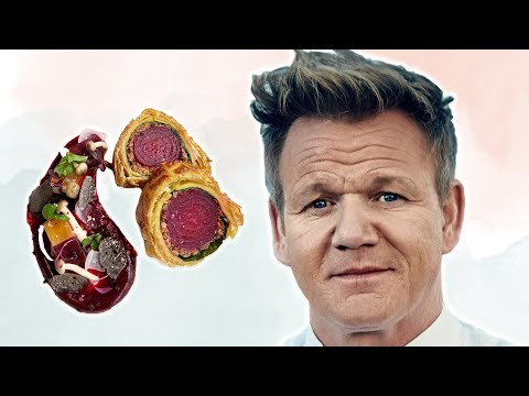 Gordon Ramsay Tries Vegan Food | LIVEKINDLY