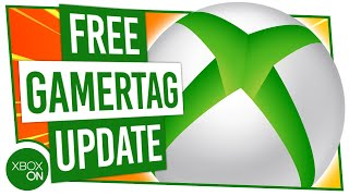 How To Change Your Xbox Gamertag FOR FREE | Brand New Gamertag Update!