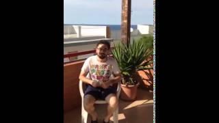 """Ice Bucket Challenge: la """"doccia gelata"""" di Nando Depalo (SEL Giovinazzo)"""