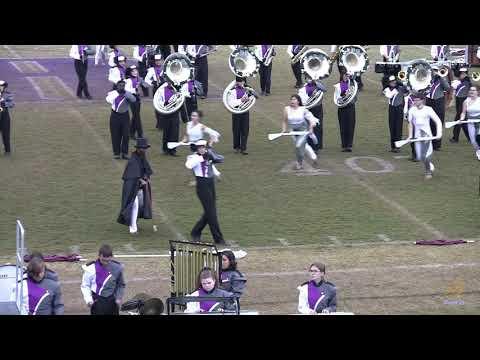 Porter Ridge High School Marching Band 10/27/2018