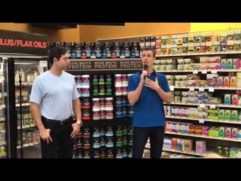 Dr. Josh Axe and Jordan Rubin Visit Nutrition Smart